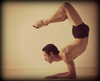 Joshua Yoga Promaflow scorpion. Joshua Marin-Hepfl